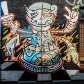 Graffiti am Schachclub