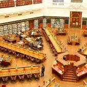 Schach in der Bibliothek