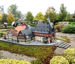 Rathaus im Miniaturenpark Wernigerode