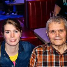 Sandra Schmidt und Arnold Tefs